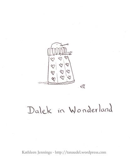 Dalek in Wonderland
