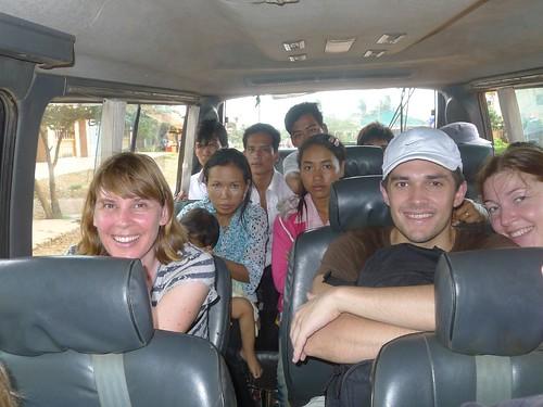 Cambodia provincial minibus