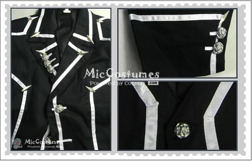 Vampire Knight Men Day department School Uniform Cosplay Costume2