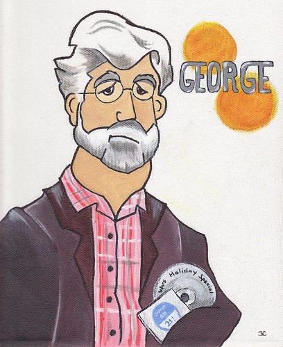 George Lucas by Jim Carchidi
