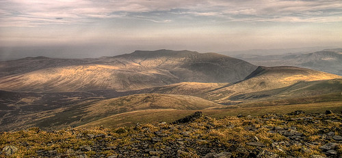 Blencathra and Skiddaw Forest from Skiddaw Summit