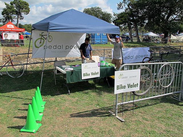 Pedal Power Bike Valet