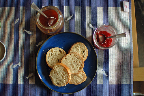 Bread and Homemade Jams