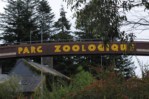Im Parc zoologique de Champrepus