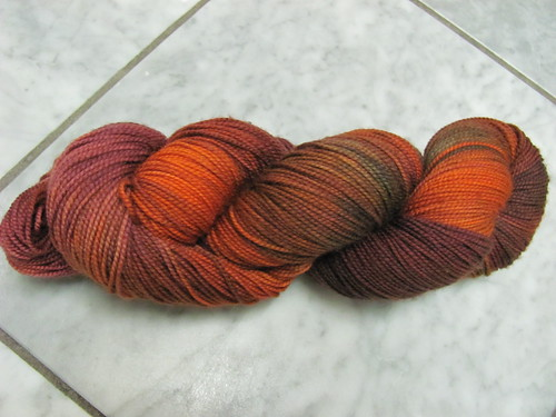 hand-dyed sock nov 11 B