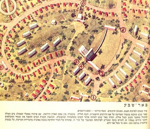 באר שבע בתכנון פיסי לישראל