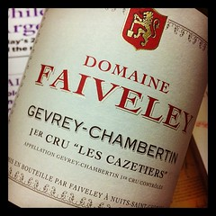 Faiveley Gevrey Chambertin 1er Cru Les Cazetieres 2009