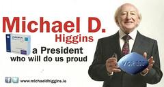 Michael D. Higgins: An Auld President.
