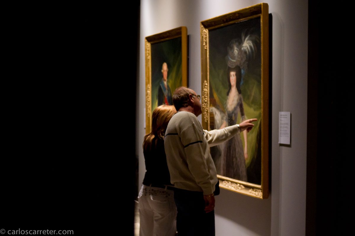 Admirando a Goya