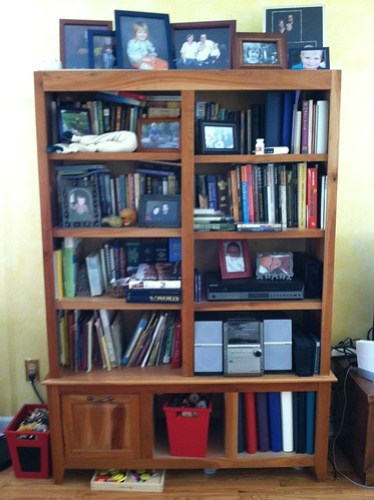 bookcase before