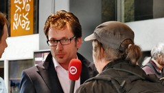 interview met Occupy bij Jaarbeursgebouw