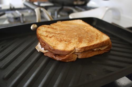 panini on Calphalon panini pan