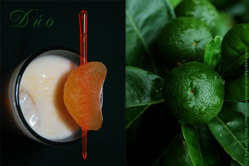 Dúo de mandarinas