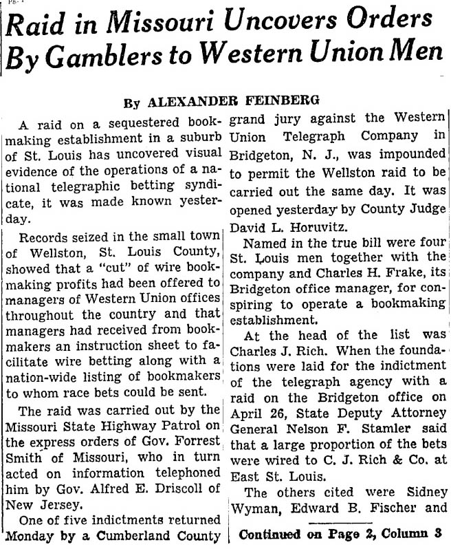 1WYMAN_Sidney_NYTIMES June 7, 1950