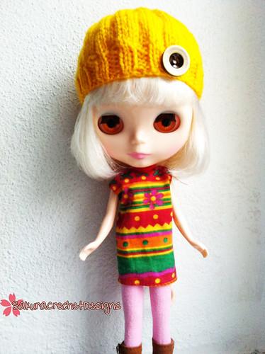 Mod Hat for Blythe