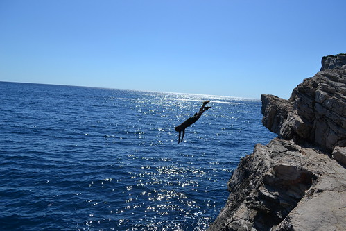 Diving @ Skraca Bay, 60 fathoms