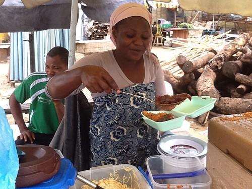 Roadside Canteen - Lekki - Epe Expressway - Lagos State, Nigeria by Jujufilms