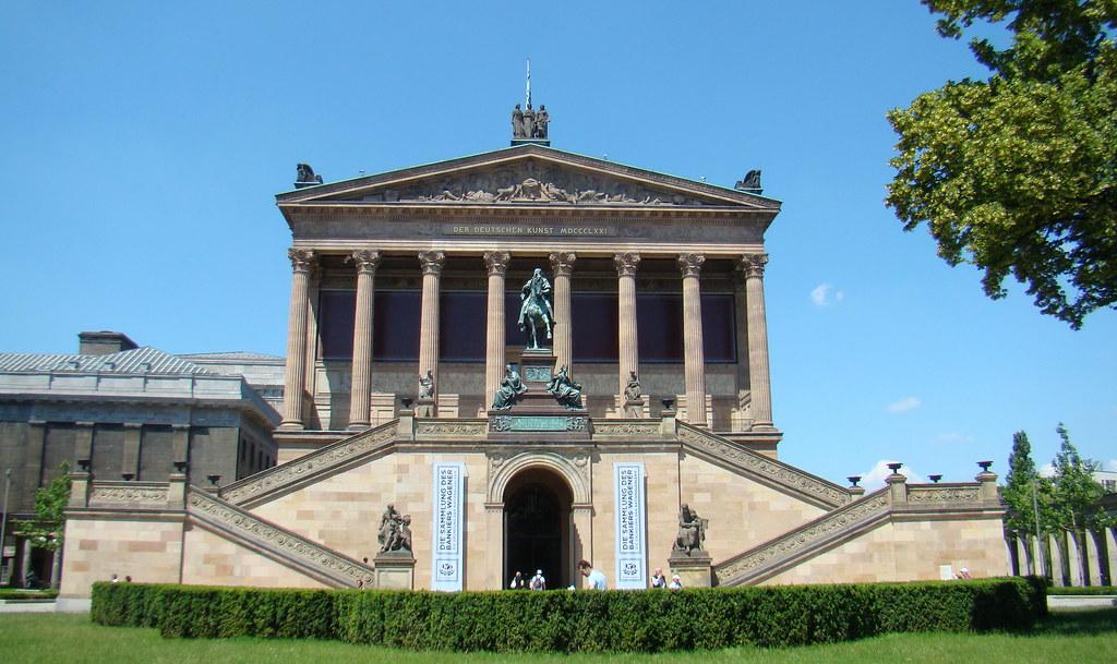 Galería Nacional Antigua Isla de los Museos Berlin Patrimonio de la Humanidad UNESCO Alemania 02