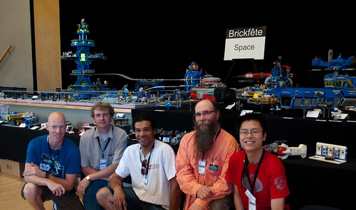 Brickfete SPACE! group shot