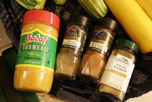 Summer Squash and Fenugreek Curry