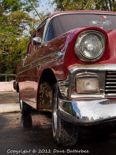 Old Chevrolet Front Quarter