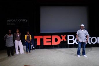 TEDxBoston 2011: Ekua Holmes, Judith Anderson, Sabrina Dorsainvil, Lewis Morris