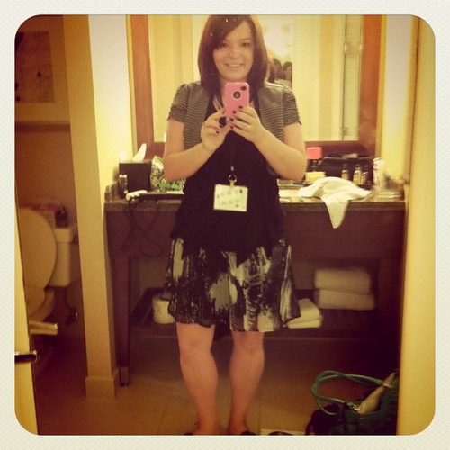 What I'm wearing today #blogher11