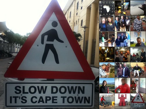 slow down, it's cape town
