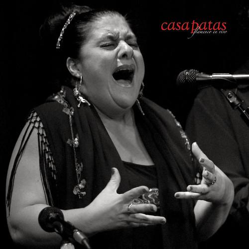 Chelo Pantoja, cantaora de Jerez. Foto: Martín Guerrero