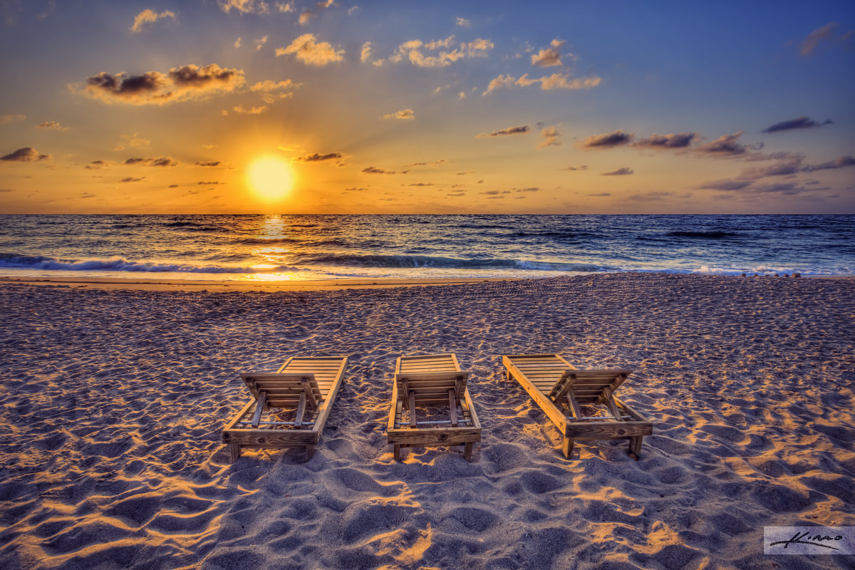 Fall Coastal Desktop Wallpaper Singer Island Beach Chairs Sunrise Flickr Photo Sharing