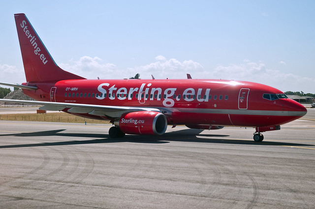 """Cimber CEO: """"This is a sad day for Danish aviation, for Cimber Sterling and for me personally"""": Photo courtesy Flickr - carrib"""