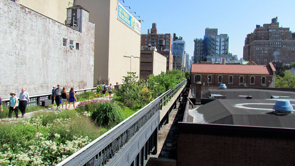 High Line park NYC - Manhattan - New York City