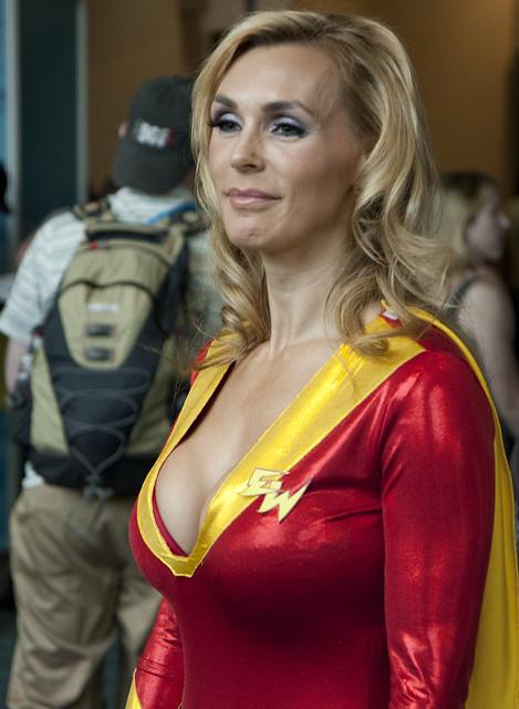 Tanya Tate as Electra Woman  Flickr  Photo Sharing