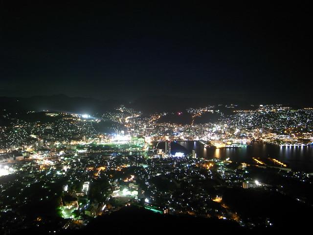 稲佐山から見た長崎の夜景