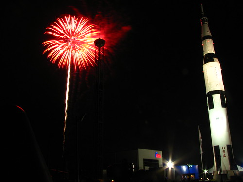 Fireworks & the Saturn V