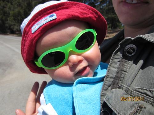 Groovy sunglasses