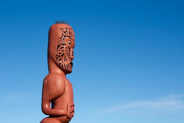 Maori carving