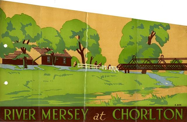 River Mersey at Chorlton