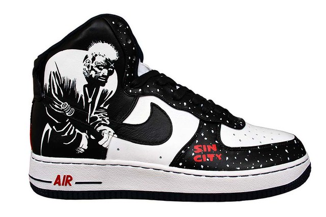 Sin City Air Force 1 Hartigan