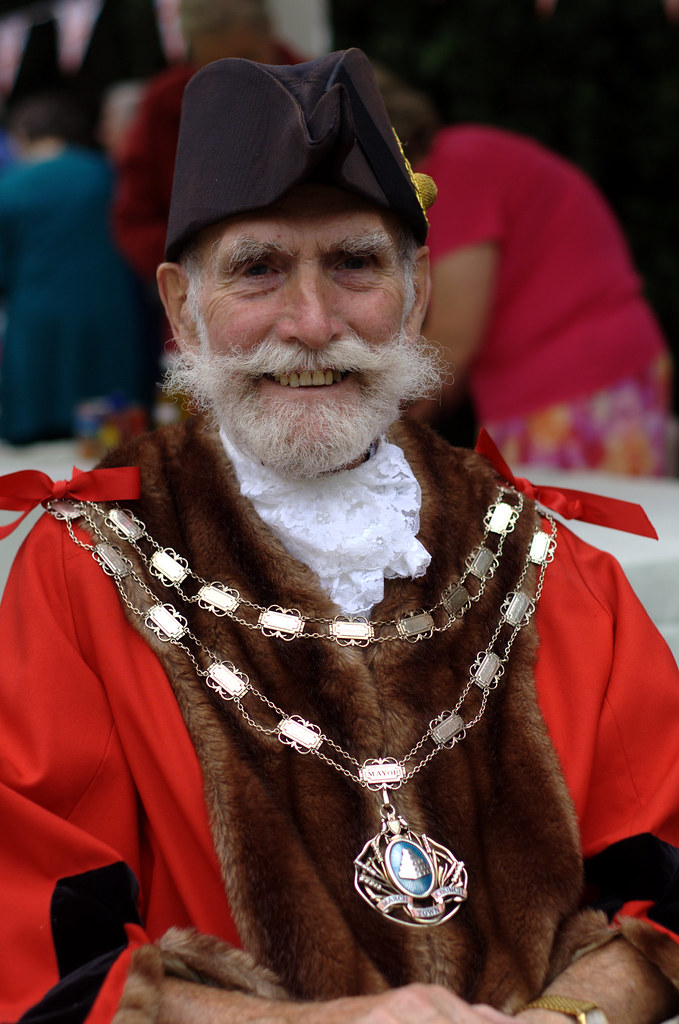 The traditional English mayor  The Tight Fisted Photographer