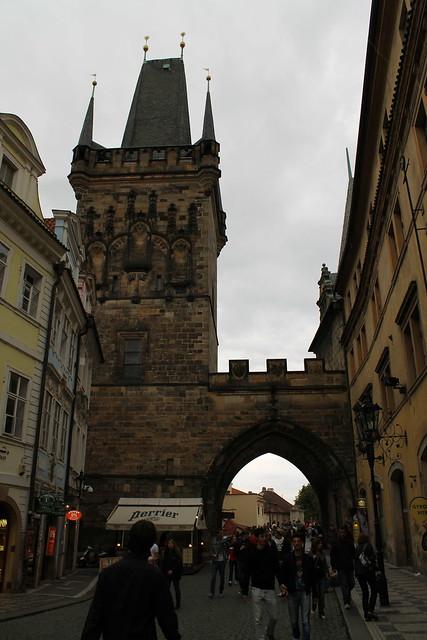 Tours de la basse ville, Pont Charles, Prague