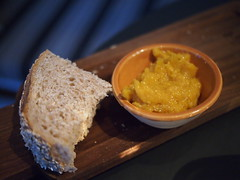 Complimentary bread and dip, Graze at Martin No. 38, Martin Road