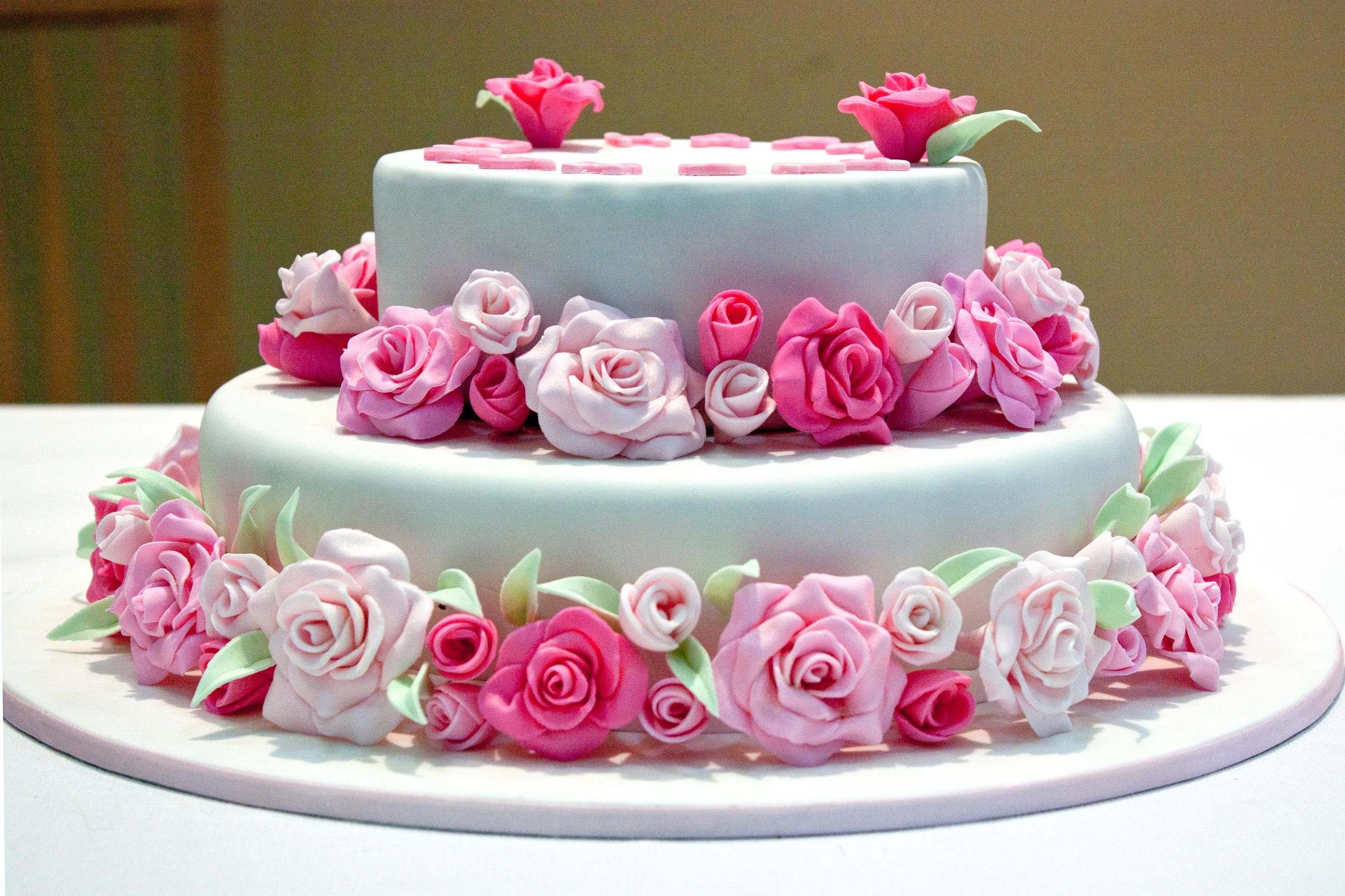 Pink Rose Birthday Cake Flickr
