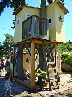 Tree House Chicken Coop