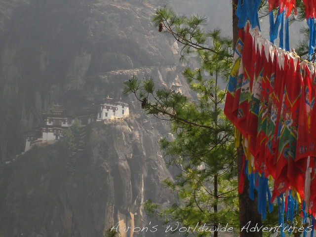 Taktsang from Cafeteria