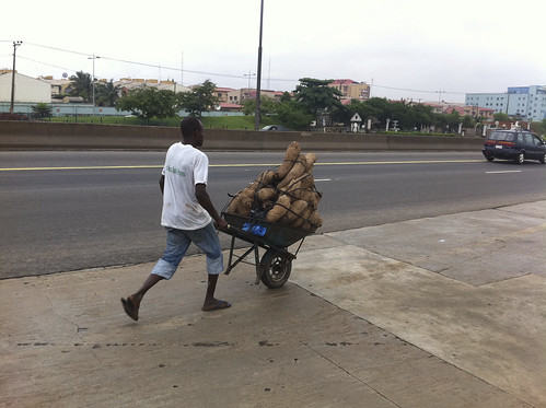 Taking His Yams To Market by Jujufilms