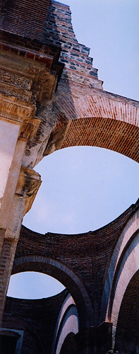 church collapsed in earthquake, Antigua, Guatemala