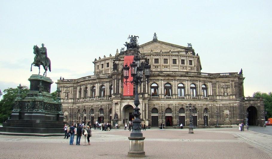 Dresden-Semperoper o Teatro de la Opera-Alemania 02
