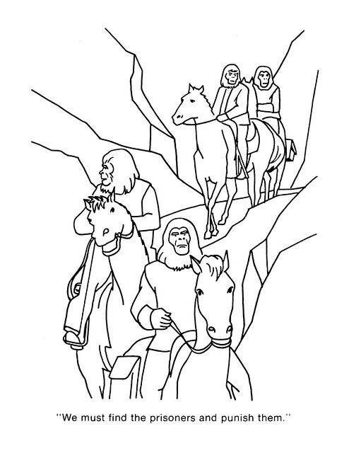 Planet Of The Apes Coloring Pages Coloring Pages