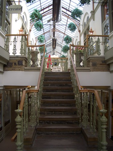 Victorian Arcade in Ilkley